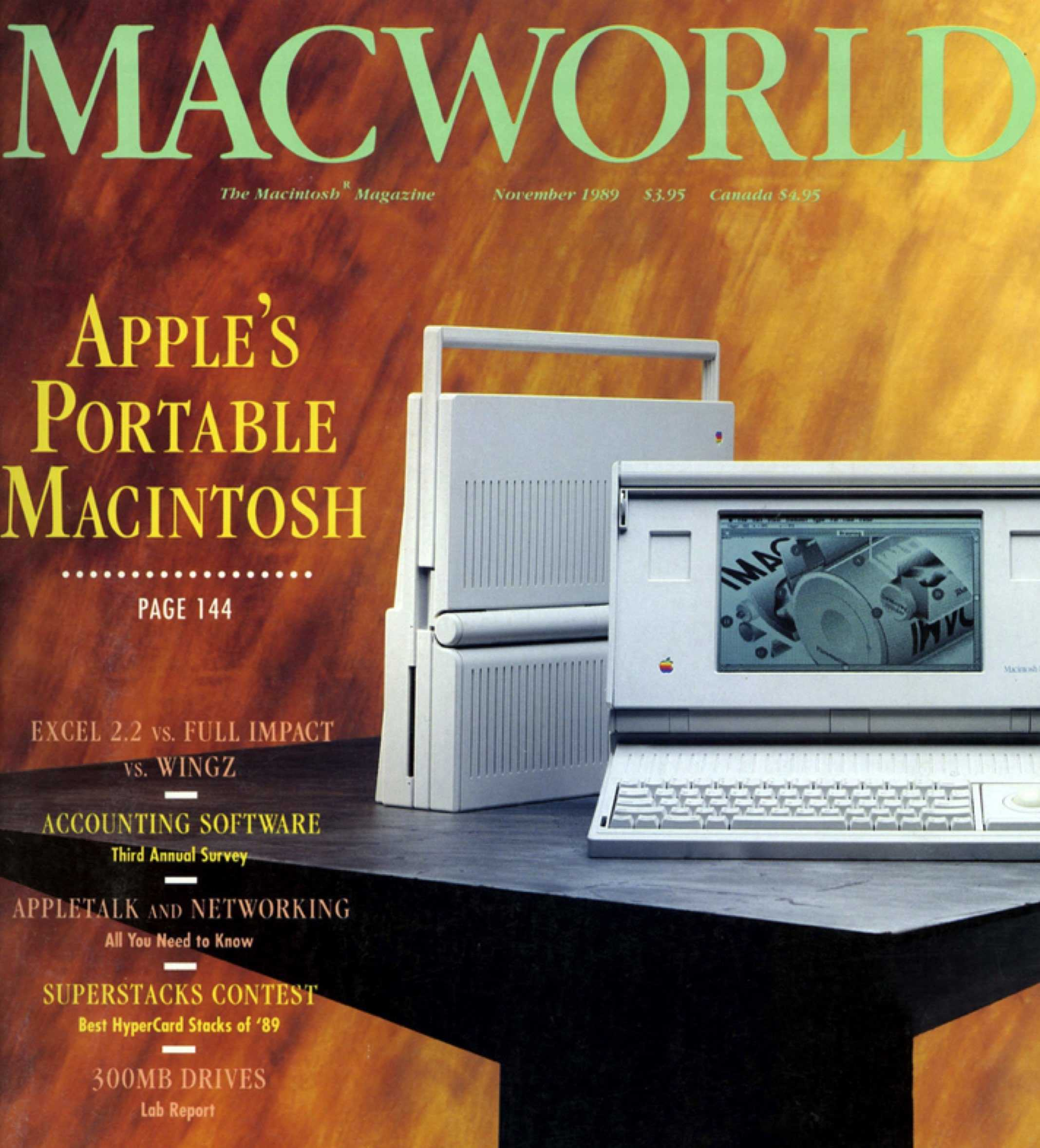 Today in Apple history Macintosh Portable the first