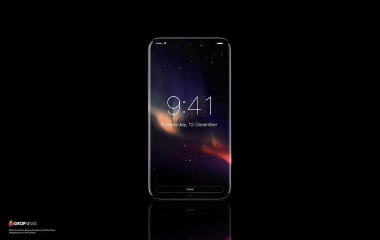 Oled Black Wallpaper Iphone X Iphone 8 Mockups Tease Apple S Bezel Free Future Cult Of Mac