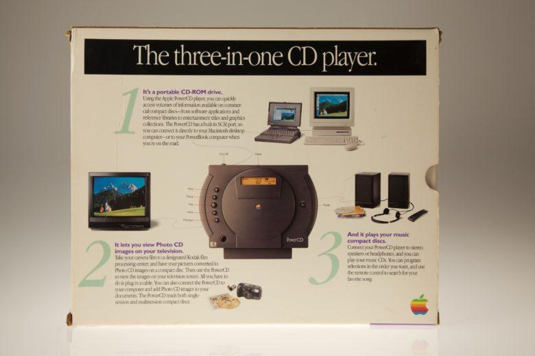 Apple PowerCD был довольно аккуратным продуктом, несмотря на отсутствие успеха.