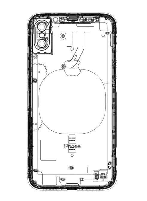 'Leaked' iPhone 8 schematic reveals mysterious circle on