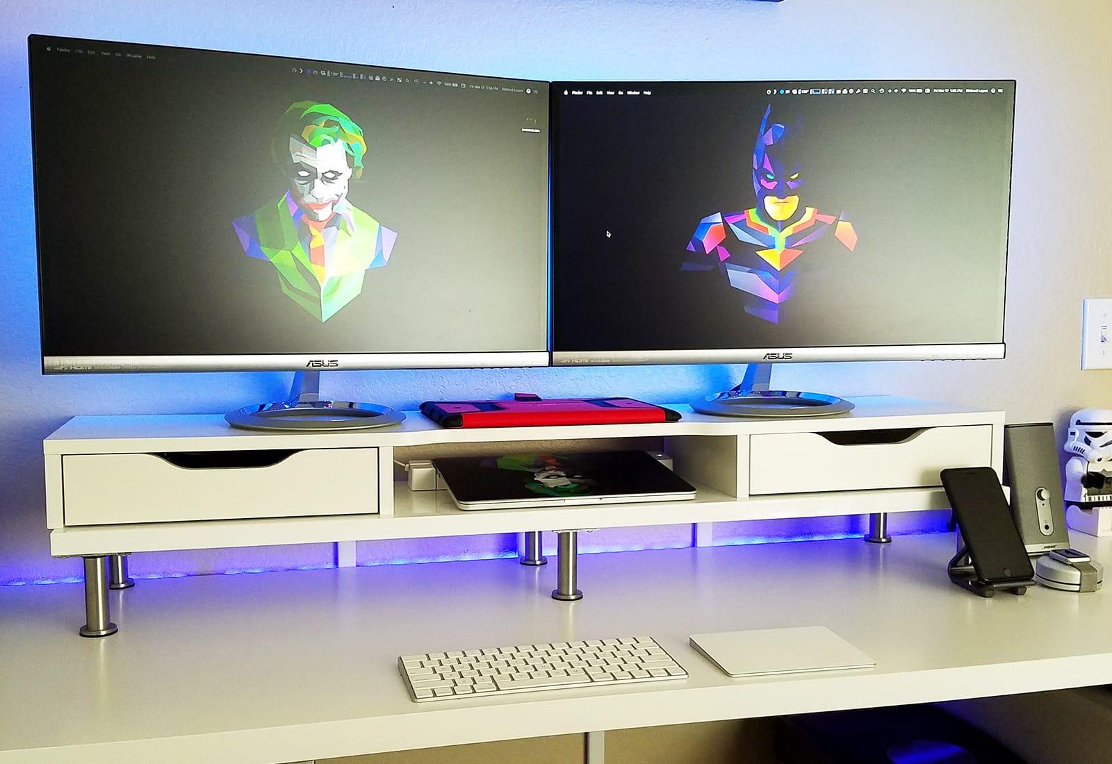 These spartan Mac setups wage war on wires iSetups