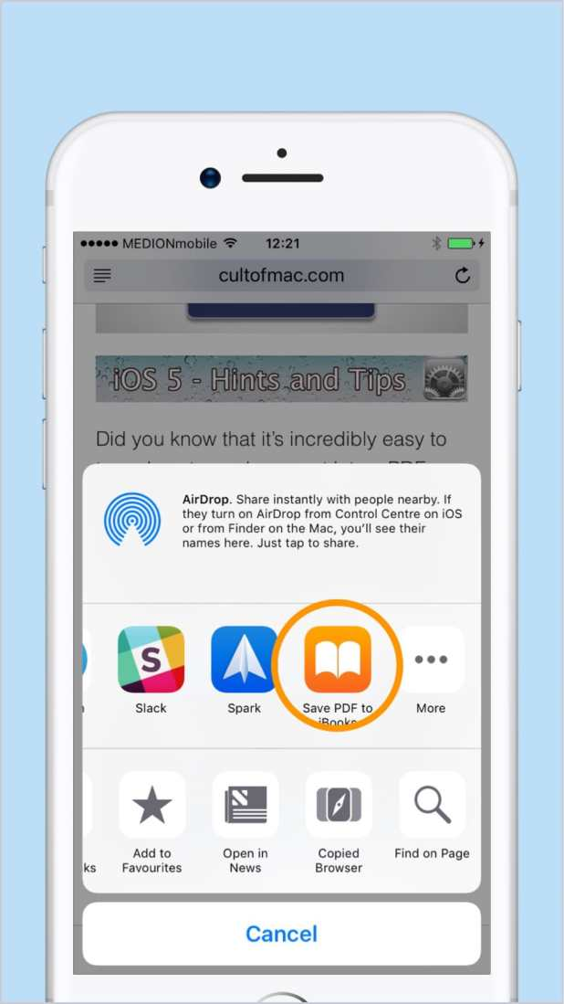 how to put pdf files on ipad without itunes