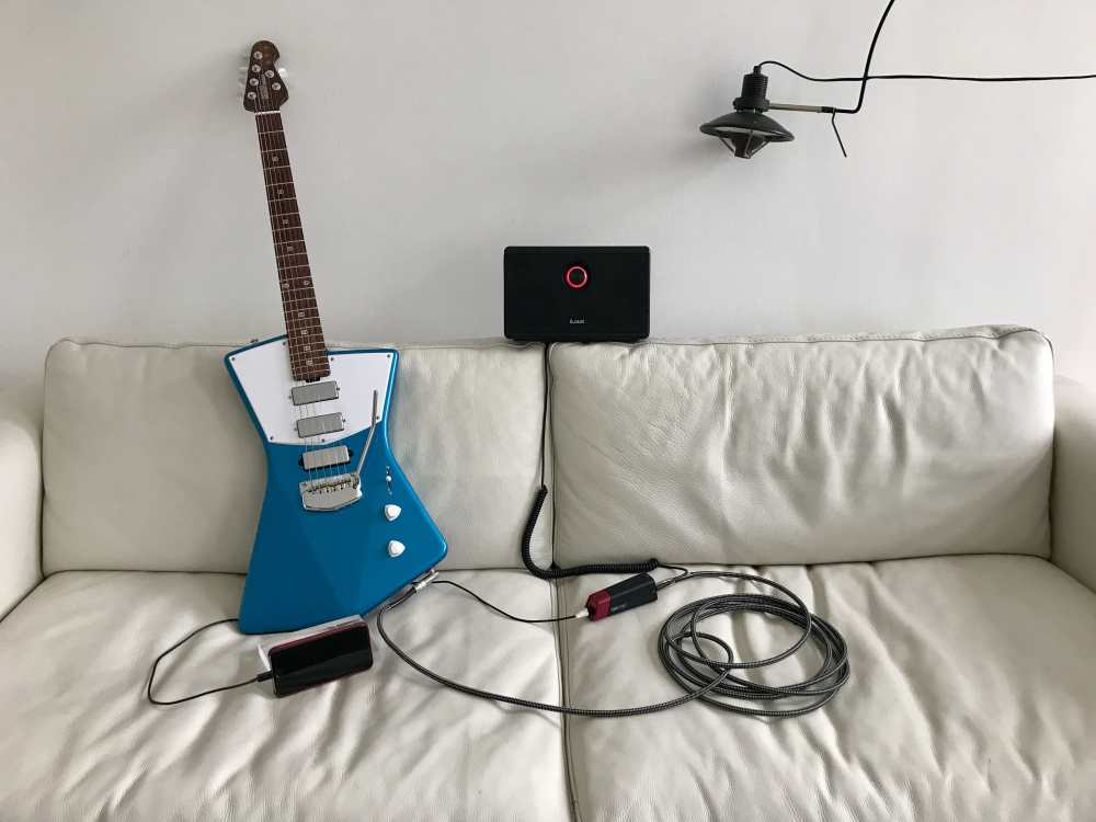 medium resolution of how to plug your guitar into your iphone and rock out
