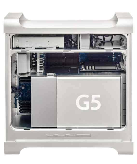 The Power Mac G5's insides were lovingly designed by Jony Ive's team to look attractive