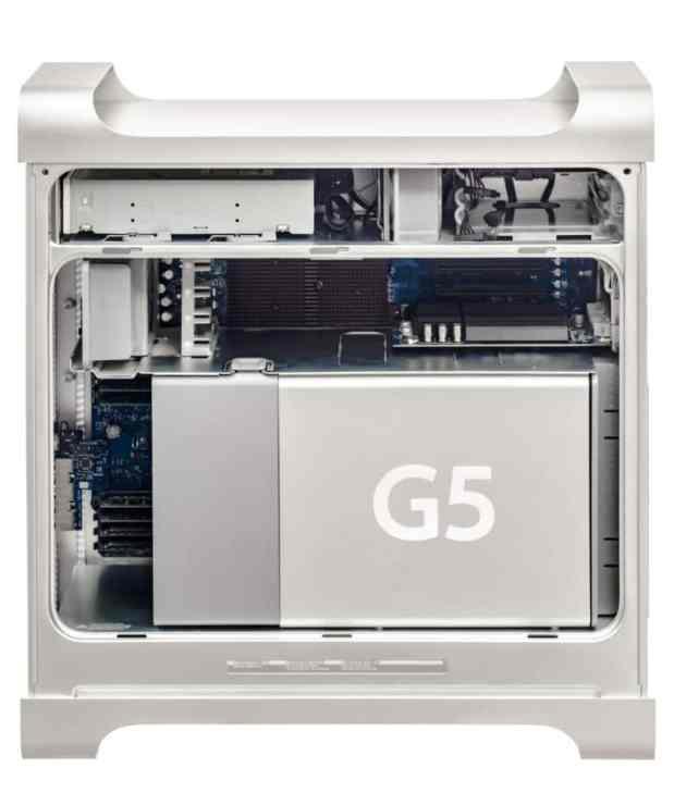 Внутренности Power Mac G5 были с любовью спроектированы командой Джони Айва, чтобы выглядеть привлекательно