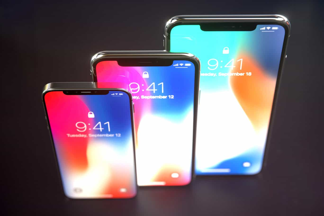 Wallpaper Iphone X Notch Iphone X Goes Super Tiny In New Concept Designs Cult Of Mac