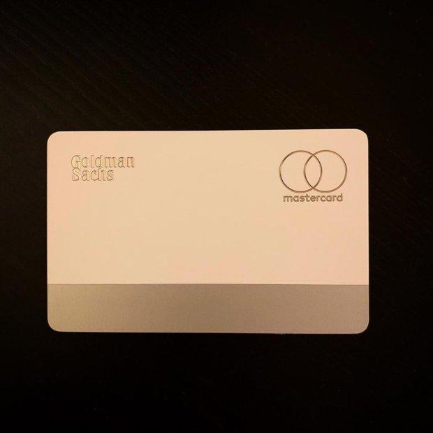Apple Card back