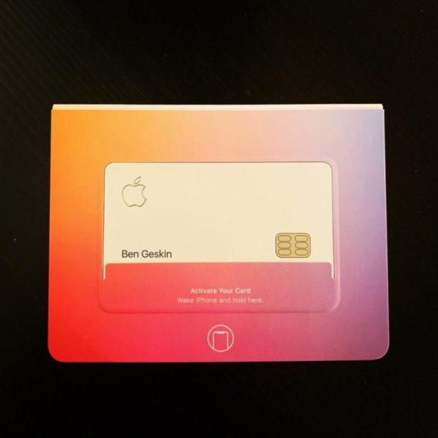 Apple Card packaging