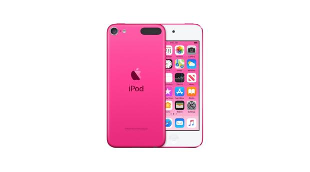 It has a headphone jack, and it comes in pink. What's not to love?
