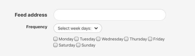 You can even set specific days to receive new episodes.