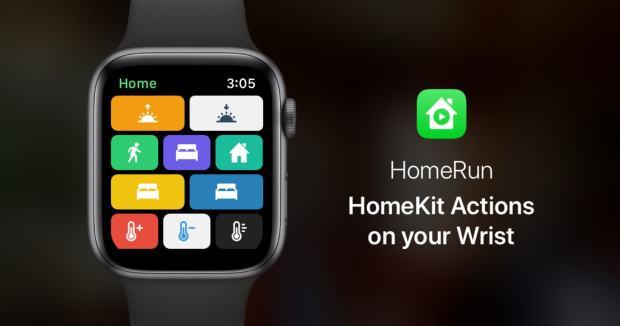 HomeRun — control HomeKit from your watch.