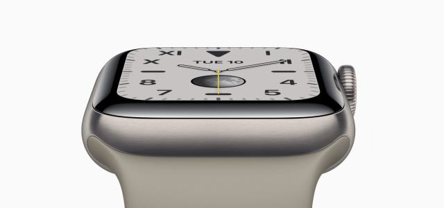 Apple Watch Series 5 is making waves this week, too
