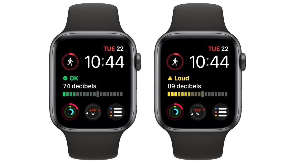The big, fancy Apple Watch Noise complication.