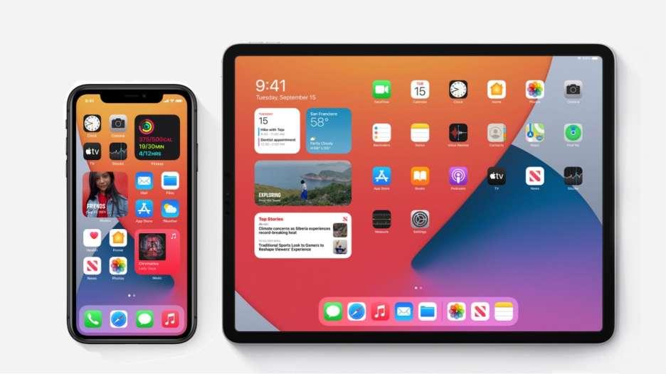 iOS 14 and iPadOS 14.