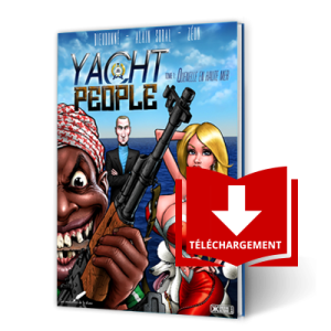 Yacht People, tome 1 – Quenelle en haute mer – Livre numérique