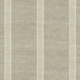 hopsack stripe natural fabric