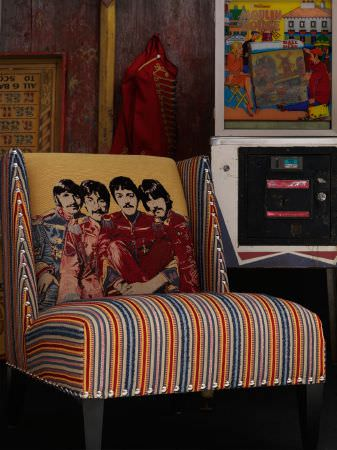 Beatles Fabric Collection  Andrew Martin  Curtains