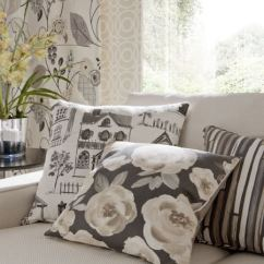 Sofa Cushion Covers Ideas Arhaus Craigslist Folia Fabric Collection | Clarke And Curtains ...