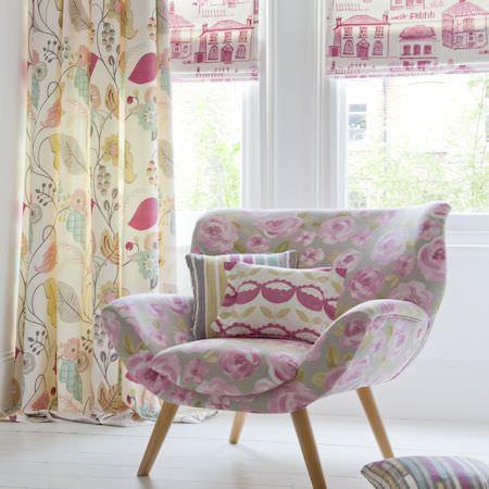 Folia Fabric Collection Studio G Curtains Amp Roman Blinds