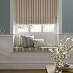 Fabric For Kitchen Curtains Wall Rack Ticking Stripes Collection | Clarke And ...