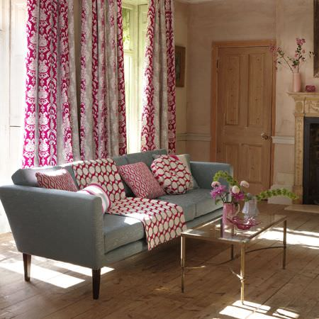 sofa upholstery fabric ideas large sectional sofas canada traviata collection | clarke and curtains ...