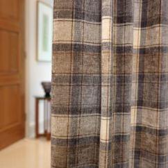 Living Room Interior Design Ideas Uk White Furniture Cheap Glencoe Fabric Collection | Fibre Naturelle Curtains ...