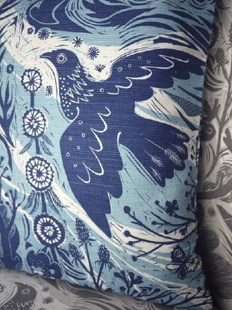 Mark Hearld Fabric Collection St Judes Curtains Amp Roman Blinds