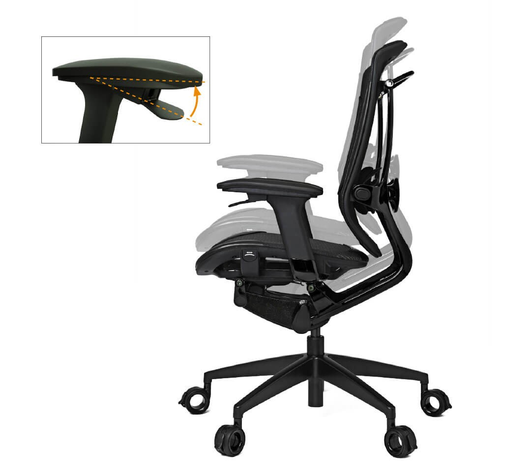 How To Adjust Office Chair Triigger 350 Black Black