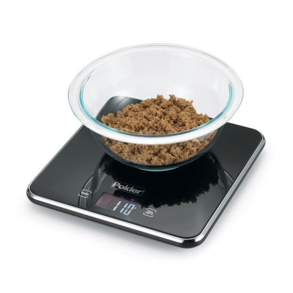 Polder Slimmer Digital Kitchen Scale 11lb Cutlery