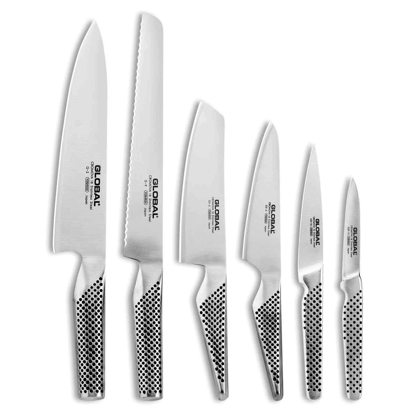 Global Knives Ikasu Block 7piece Knife Set  Cutlery and More
