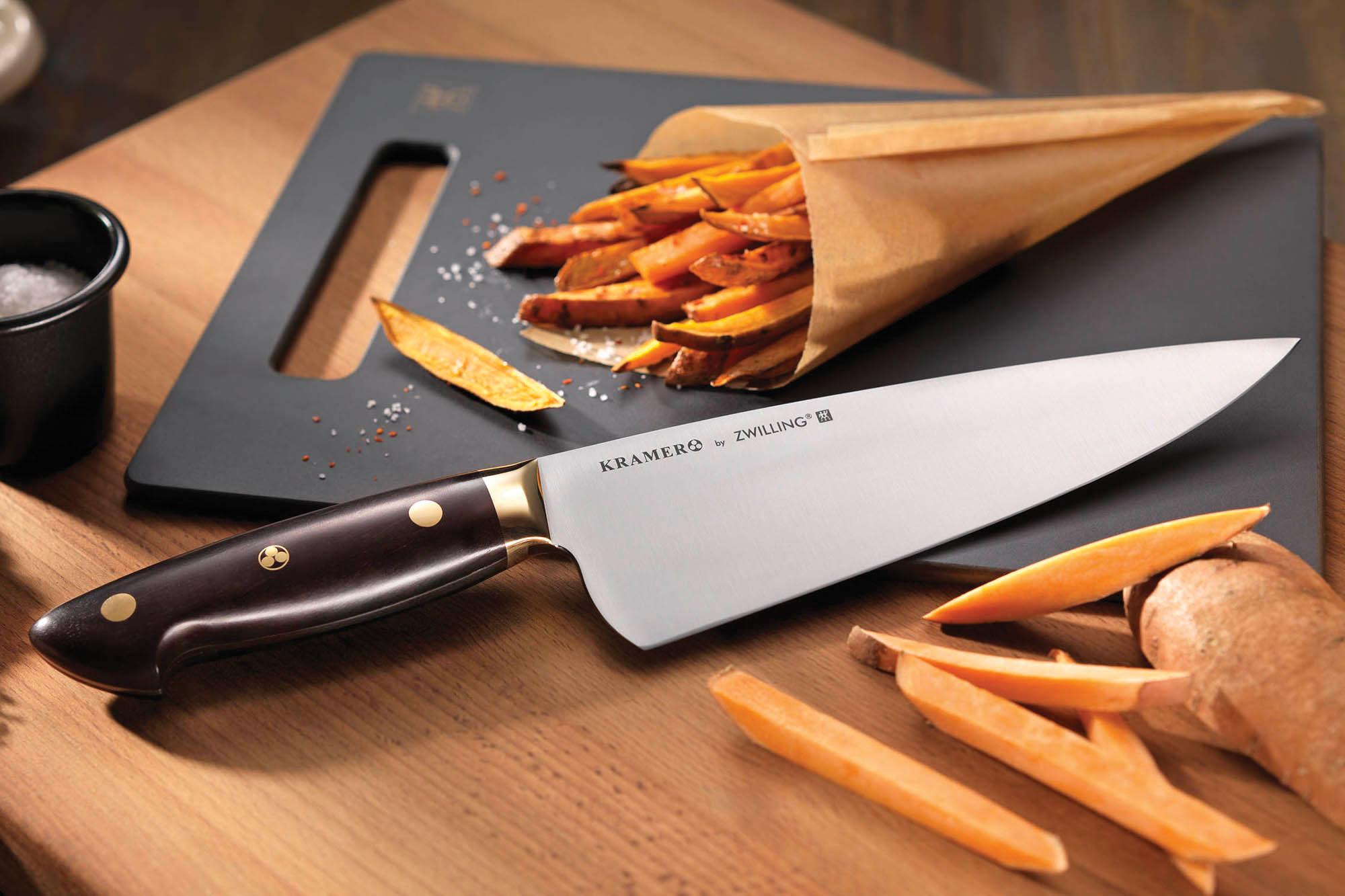 Bob Kramer Carbon Steel Chefs Knife Set  Zwilling