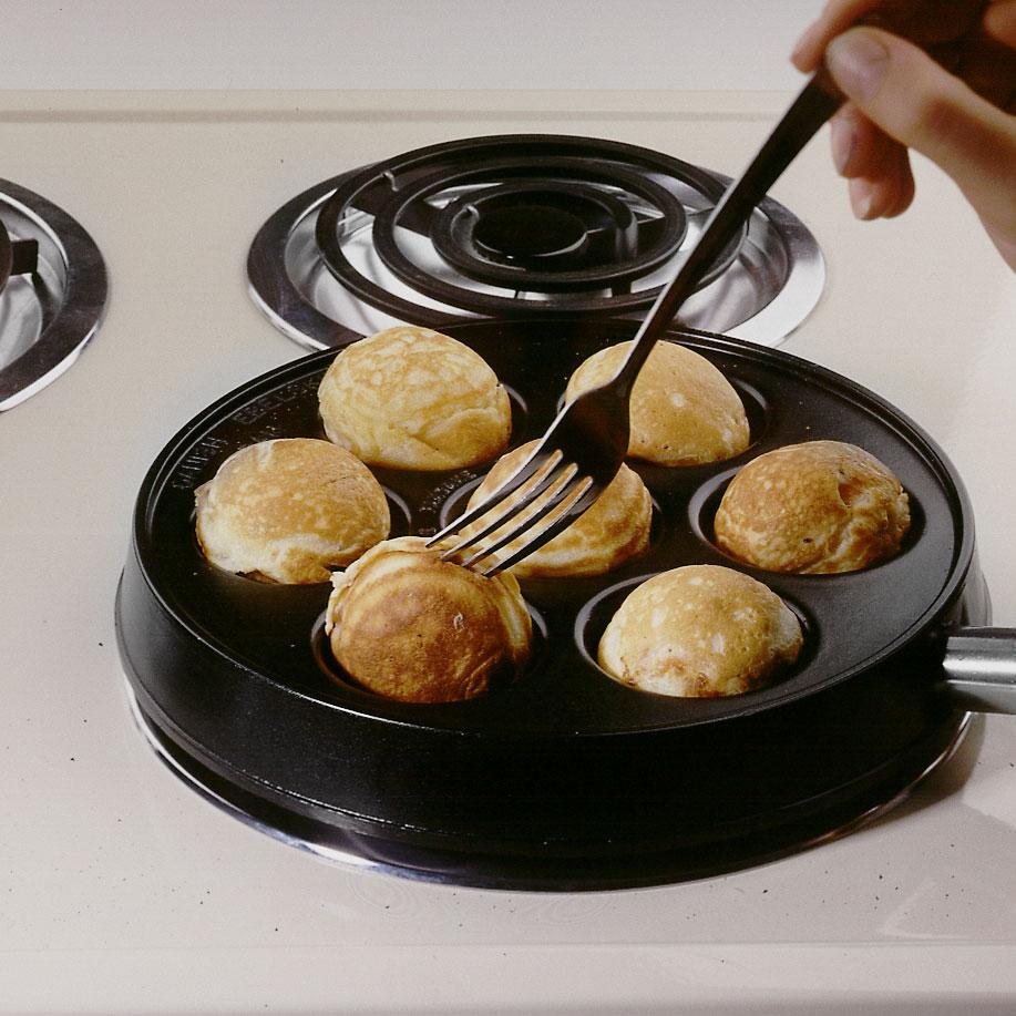 NordicWare Round Danish Ebleskiver Pancake Pan 9 Inch
