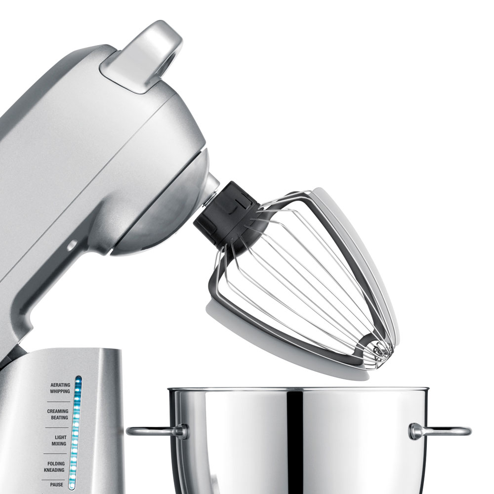 Breville Mixing Bowl with Stand Mixer Scraper Whisk 3quart  Cutlery and More