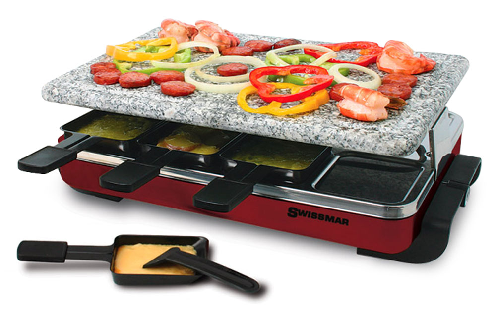 henckels kitchen shears bling backsplash swissmar classic raclette grill with granite stone, 8 ...