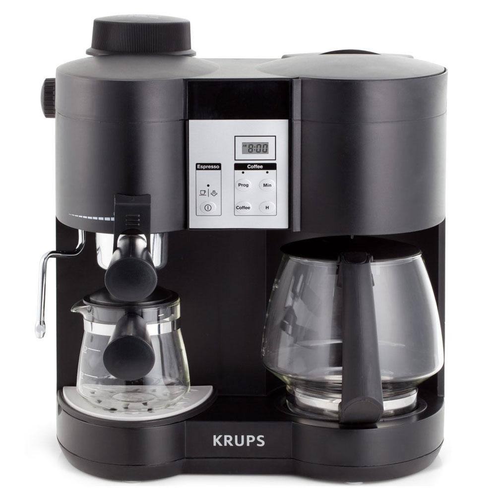 Krups Combination Coffee Maker  Espresso Machine