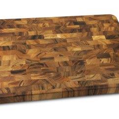 Wusthof Kitchen Shears Modern White Gloss Cabinets Acacia Cutting Board 20x14-inch End Grain Butcher Block ...