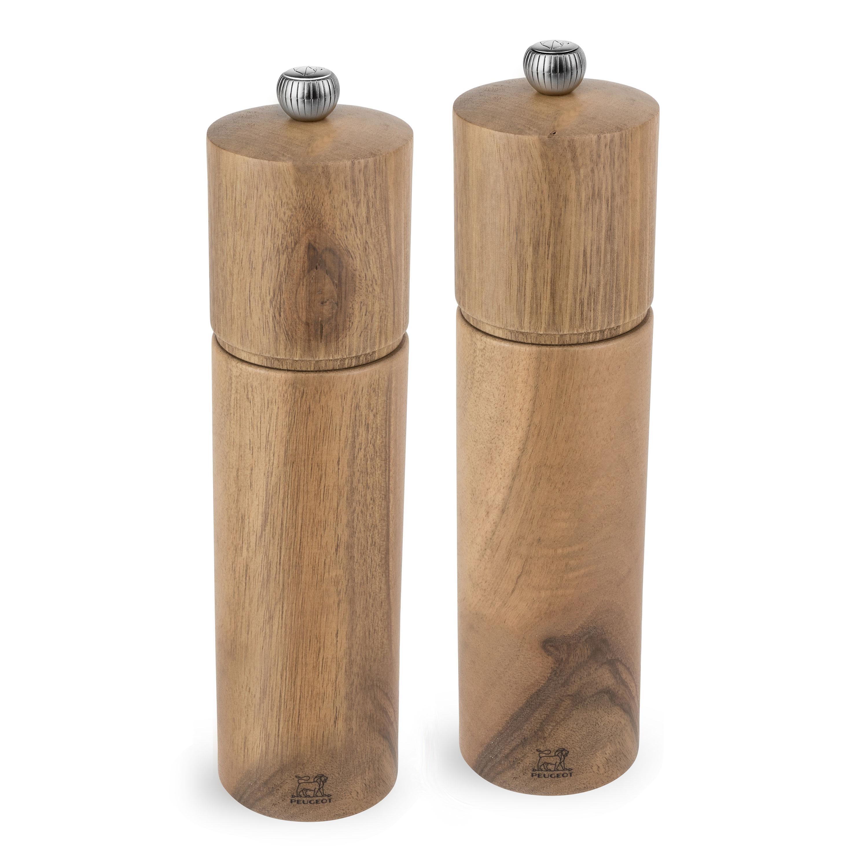 Peugeot Chatel Walnut Wood Salt Amp Pepper Mill Set 8 Inch