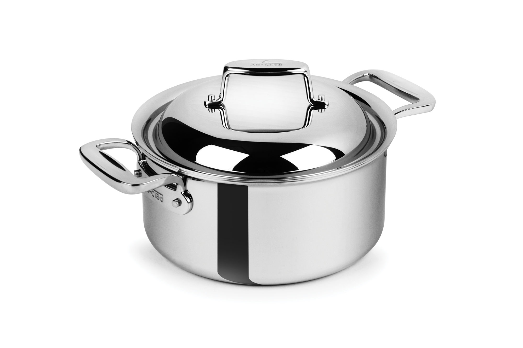 kitchen mandoline trash cans with lids all-clad d7 stainless steel round dutch oven, 3.5-quart ...