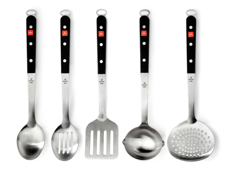 kitchen tool set round wood table wusthof utensil 5 piece tools cooking utensils