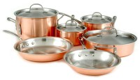 Calphalon Copper Cookware Set, 10-piece | Cutlery and More