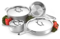 All-Clad Master-Chef 2 Cookware Set, 7-piece | Cutlery and ...