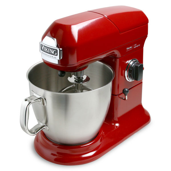 Viking Stand Mixer 7quart Bright Red  Cutlery and More