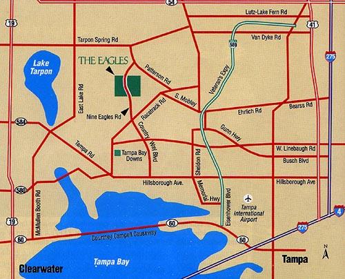 The Eagles Golf Club - Odessa Florida - Tampa Bay