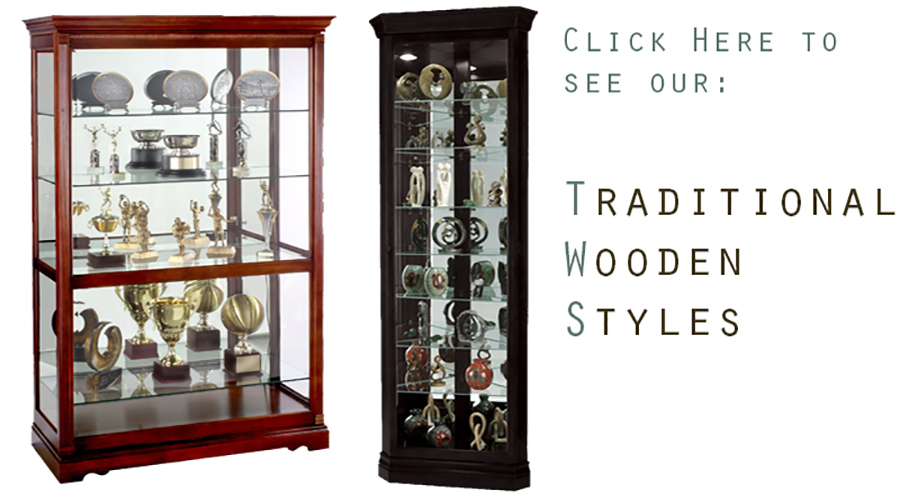 Trophy Cases  Collectible Retail  Trophy Display