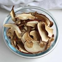 Sådan laver du tørrede svampe - og svampepulver