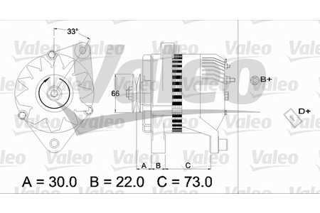 Lichtmaschine, Generator (Lichtmaschine/Generator) Fiat