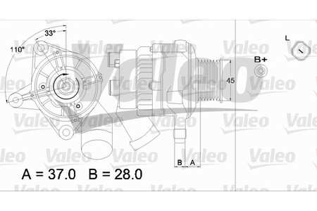 Lichtmaschine, Generator (Lichtmaschine/Generator) BMW 7er