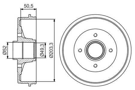 Bremstrommel für Nissan Micra III [K12] kaufen und bis zu