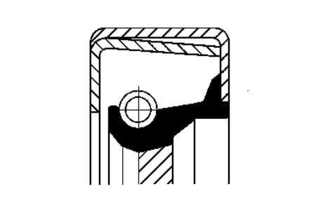 Schaltgetriebe-Wellendichtring (Reparatur-,Dichtungssätze