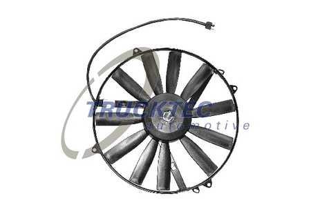 Klimakondensator-Lüfter (Kältemittelkondensator) für